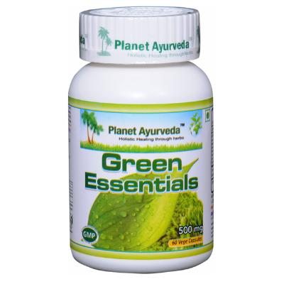 Green Essentials contém nutrientes fundamentais à saúde e recomendados contra metais pesados
