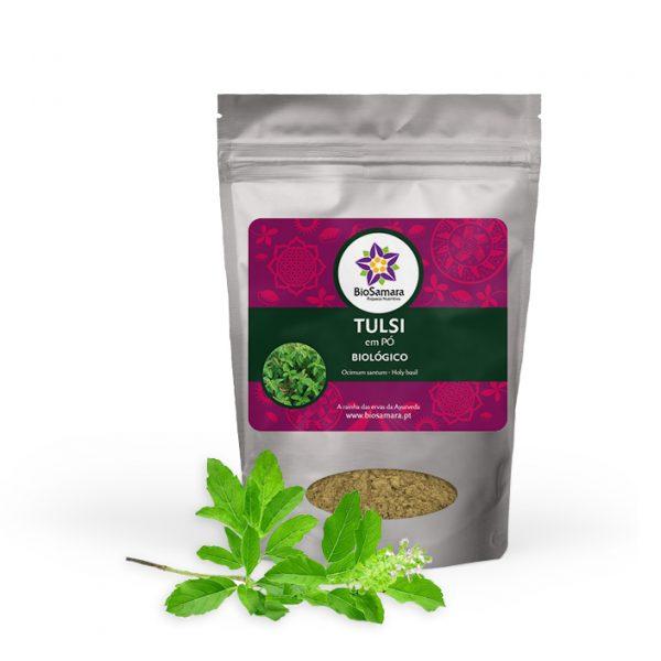 Tulsi é uma planta adaptogénea usada na medicina ayurvédica