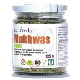 Especiarias para mastigar após a refeição. Mukhas verde facilita as digestões