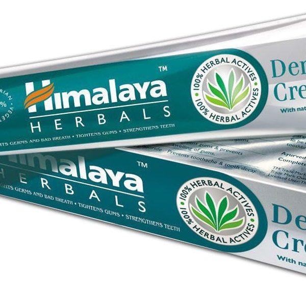 pasta de dentes produtos naturais himalaya