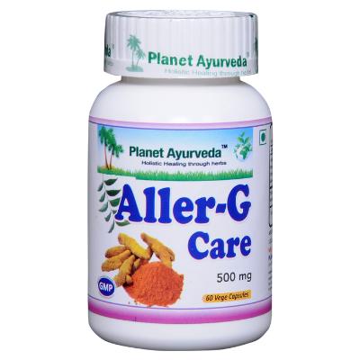 Fórmula Aller G Care para alergias e sistema respiratório