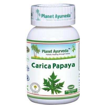 Extrato natural de papaína para problemas trato digestivo