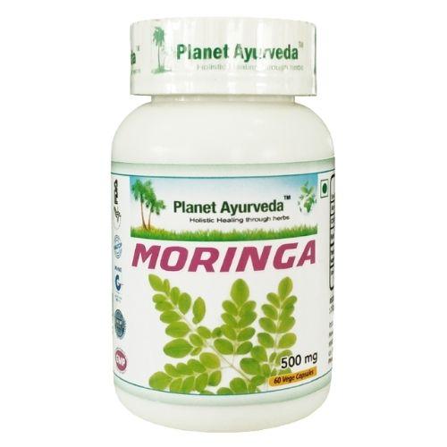 Moringa em cápsulas numa fórmula 100% natural e segundo a conceção ayurvédica